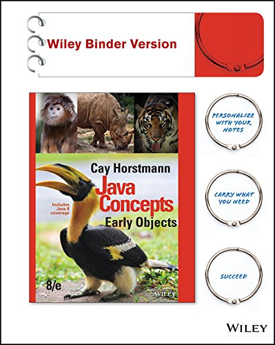 9781119056454: Java Concepts, Binder Ready Version: Early Objects