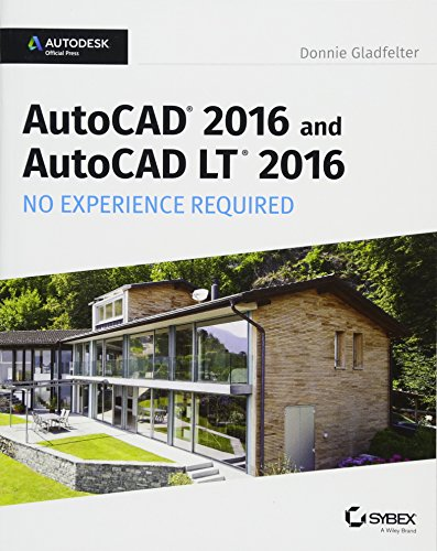 9781119059554: AutoCAD 2016 and AutoCAD LT 2016 No Experience Required: Autodesk Official Press