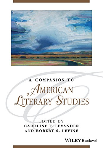9781119062516: A Companion to American Literary Studies (Blackwell Companions to Literature and Culture)