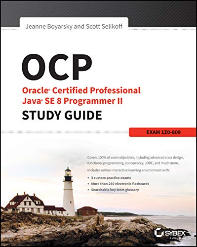 9781119067900: OCP: Oracle Certified Professional Java SE 8 Programmer II Study Guide: Exam 1Z0-809