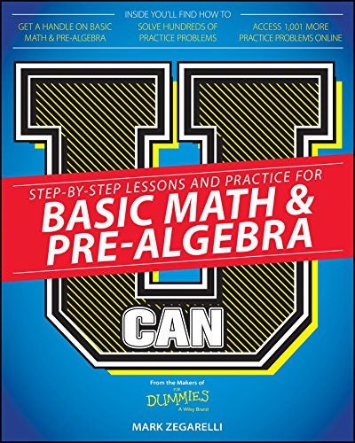 9781119067962: U Can: Basic Math and Pre-Algebra For Dummies