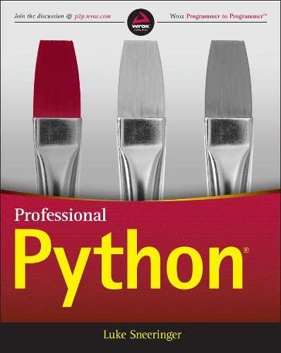9781119070856: Professional Python