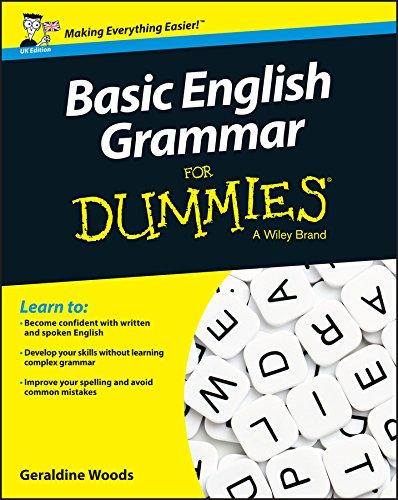 9781119071150: Basic English Grammar For Dummies - UK: UK Edition