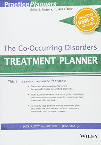 The Co-Occurring Disorders Treatment Planner, with Dsm-5 Updates (PracticePlanners): Jongsma, ...