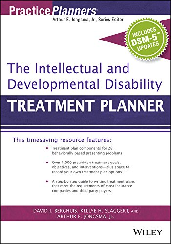 9781119073307: The Intellectual and Developmental Disability Treatment Planner, with DSM 5 Updates (PracticePlanners)
