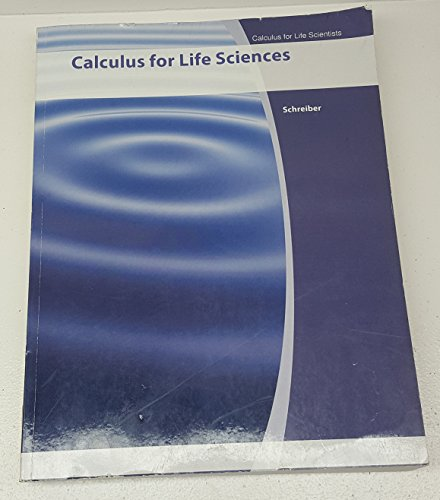 9781119073345: Calculus for Life Sciences