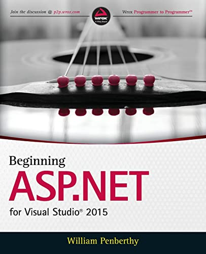 9781119077428: Beginning ASP.NET for Visual Studio 2015