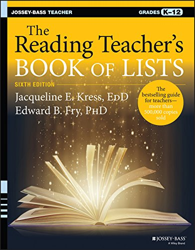 9781119081050: The Reading Teacher's Book of Lists (J-B Ed: Book of Lists)