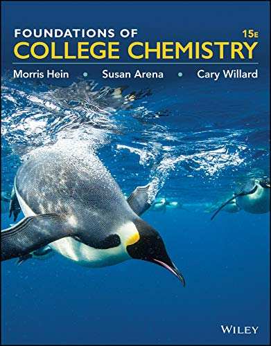 9781119083900: Foundations of College Chemistry, Binder Ready Version
