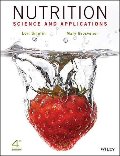 Nutrition 9781119087106 Nutrition: Science and Applications, 4th Edition helps students develop the scientific understanding to support their personal and professional decisions. Using a critical thinking approach, Smolin brings nutrition out of the classroom and allows students to apply the logic of science to their own nutrition concerns – both as consumers and as future scientists and health professionals.