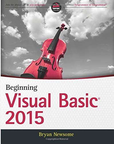 9781119092117: Beginning Visual Basic 2015