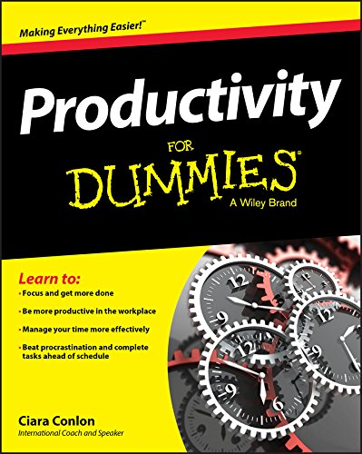 9781119099529: Productivity For Dummies