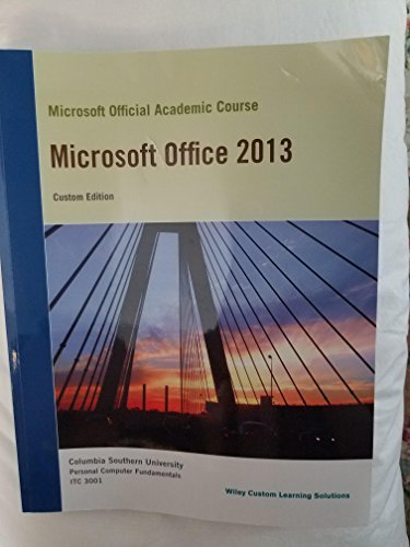 Microsoft Office 2013: John Wiley &