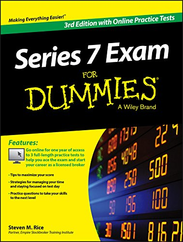 9781119103752: Series 7 Exam For Dummies, with Online Practice Tests