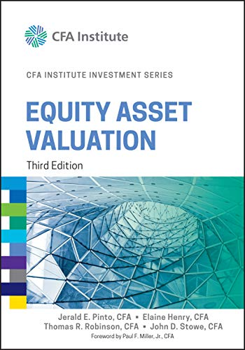 9781119104261: Equity Asset Valuation (CFA Institute Investment Series)