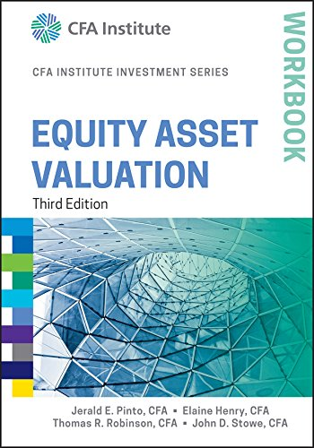 9781119104612: Equity Asset Valuation Workbook (CFA Institute Investment Series)