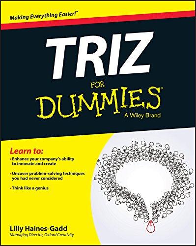 9781119107477: Triz for Dummies