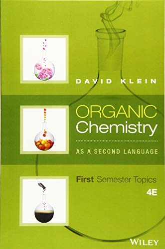9781119110668: Organic Chemistry As a Second Language: First Semester Topics
