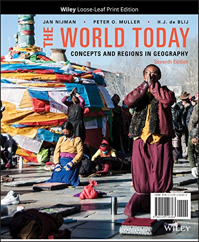 The World Today, Binder Ready Version: Concepts: Nijman, Jan, Muller,