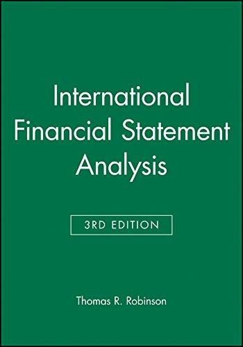 9781119119036: International Financial Statement Analysis, Book and Workbook Set (CFA Institute Investment Series)