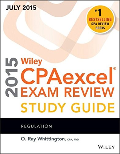 9781119119937: Wiley CPAexcel Exam Review 2015 Study Guide July: Regulation