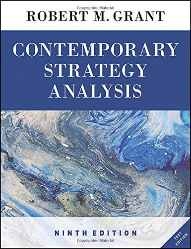 9781119120834: Contemporary Strategy Analysis Text Only