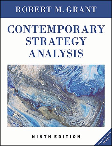 9781119120841: Contemporary Strategy Analysis: Text and Cases Edition