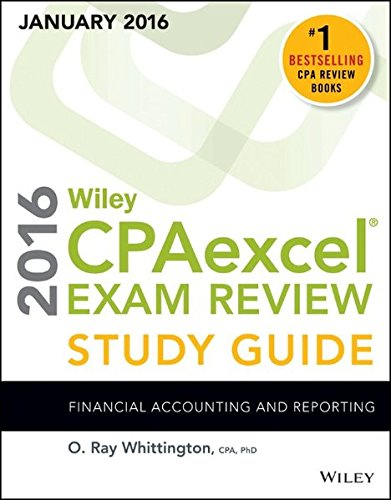 Wiley CPAexcel Exam Review 2016 Study Guide: Whittington, O. Ray
