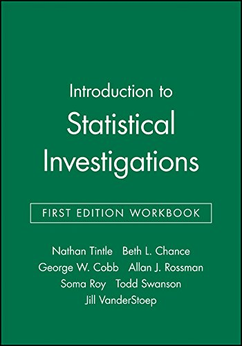 9781119124672: Introduction to Statistical Investigations, First Edition Workbook