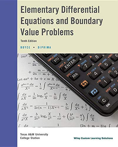 9781119124788: Elementary Differential Equations and Boundary Value Problems