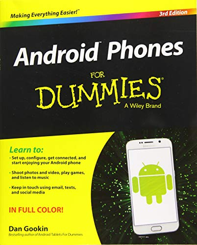 9781119126003: Android Phones for Dummies (For Dummies (Computer/Tech))