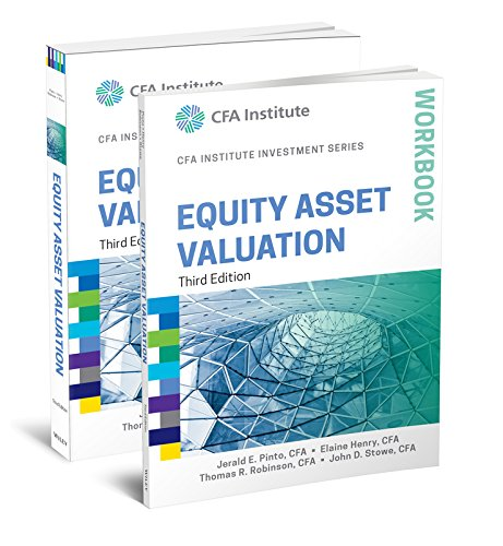 9781119127796: Equity Asset Valuation, 3e Book and Workbook Set (CFA Institute Investment Series)
