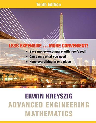9781119131007: Advanced Engineering Mathematics 10e Binder Ready Version + WileyPLUS Registration Card