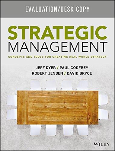 9781119134756: strategic management