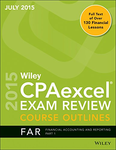 9781119135852: Wiley CPA Excel Exam Review Course Outlines (July 2015)