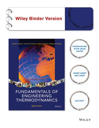9781119138983: Fundamentals of Engineering Thermodynamics 8e Binder Ready Version + WileyPLUS Learning Space Registration Card