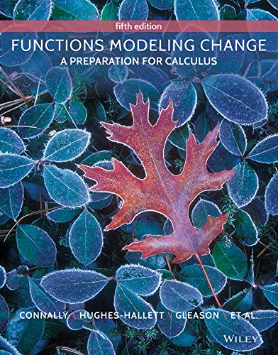 9781119146193: Functions Modeling Change 5e + WileyPLUS Registration Card