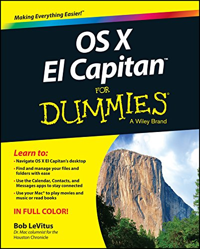 9781119149613: OS X El Capitan For Dummies