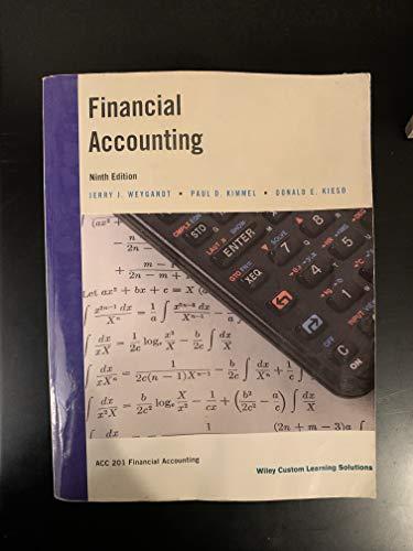 9781119162360: Financial Accounting Ninth Edition (Paperback)
