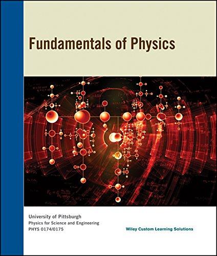 9781119172673: Fundamentals of Physics for University of Pitt Fall 2015 Phys 0174/0175