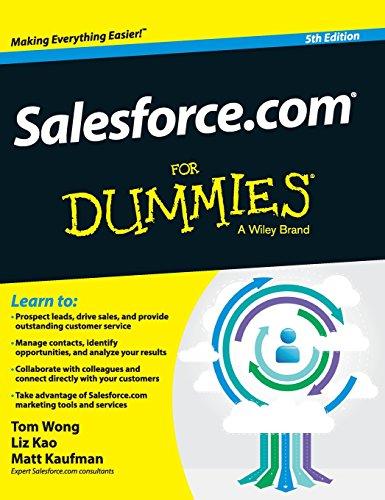 9781119176091: Salesforce.com For Dummies