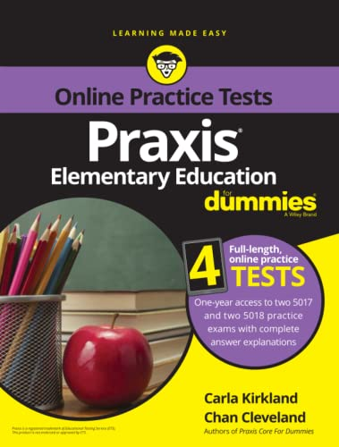 9781119187868: Praxis Elementary Education For Dummies with Online Practice