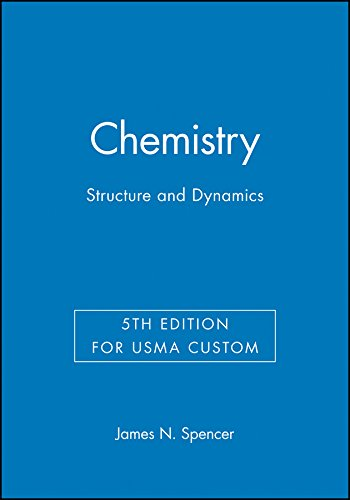 9781119192503: Chemistry: Structure and Dynamics, 5e for Usma Custom (Wiley Custom Select)