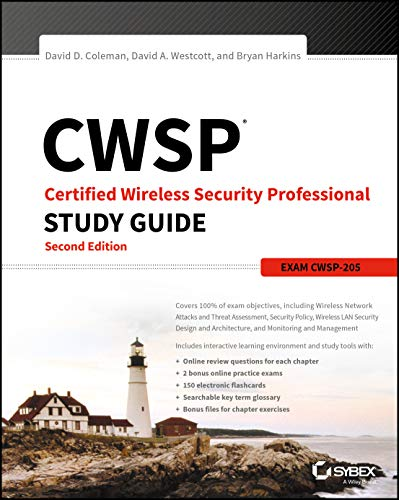 9781119211082: Cwsp: Certified Wireless Security Professional Study Guide CWSP-205