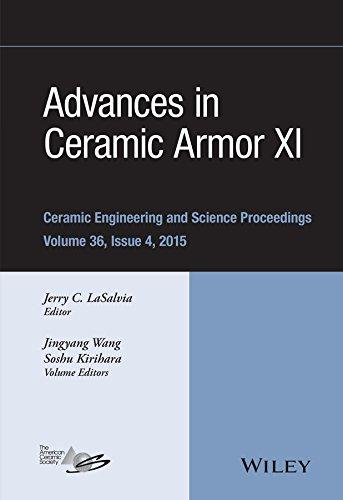 9781119211532: Advances in Ceramic Armor XI (Ceramic Engineering and Science Proceedings)