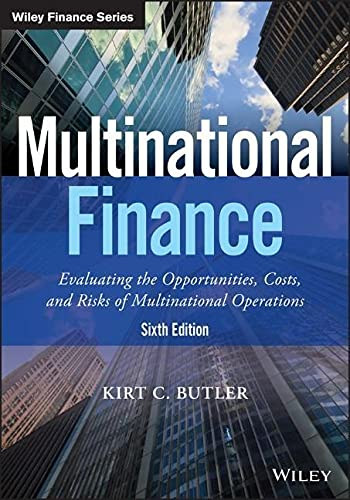 9781119219682: Multinational Finance: Evaluating the Opportunities, Costs, and Risks of Multinational Operations (Wiley Finance)