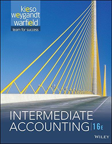 9781119231530: Intermediate Accounting