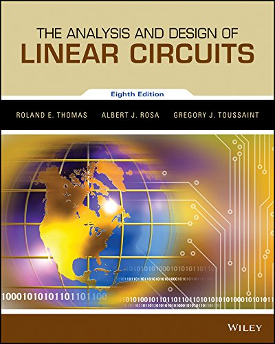 9781119235385: The Analysis and Design of Linear Circuits, Binder Ready Version