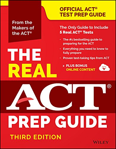 9781119236412: The Real ACT Prep Guide (Book + Bonus Online Content), (Reprint) (Official Act Prep Guide)