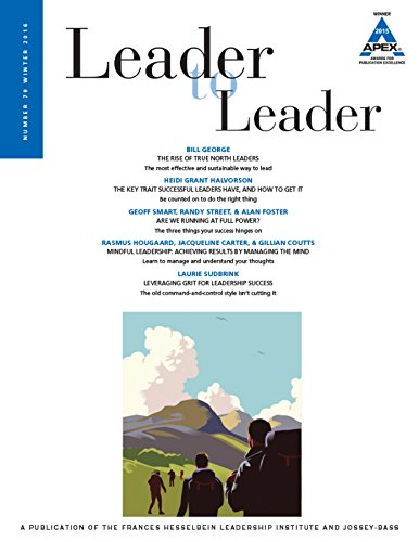 9781119236870: Leader to Leader, Winter 2016
